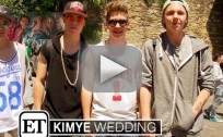 Justin Bieber Fans at Kimye Wedding
