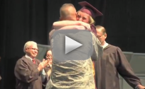 Deployed Dad Surprises Daughter at Graduation