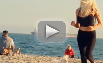 Courtney Stodden Baywatch Run
