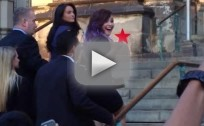 Demi Lovato Gives Heckler the Finger