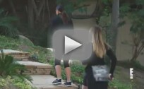 Kim, Khloe and Rob Work Out