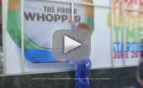 "Burger King Introduces ""Proud Whopper"""
