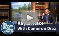 Jimmy Fallon vs. Cameron Diaz in a Kayak Race