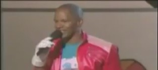 Jamie foxx moonwalk