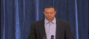 Tiger woods apology speech