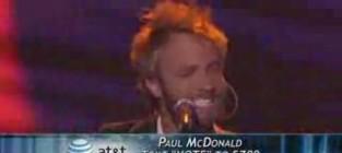 Paul McDonald - Folsom Prison Blues (American Idol)