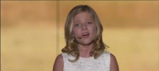 Jackie evancho somewhere over the rainbow live