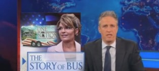 Jon Stewart on Sarah Palin Email Coverage: Come On, Media!