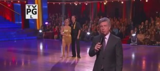 Nancy Grace Loses Patience, Points on DWTS
