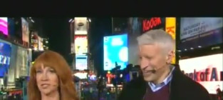 Kathy Griffin Strips to Her Underwear in Times Square [Video]