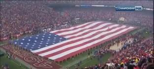 Kristin chenoweth sings national anthem
