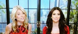 Kim kardashian on live with kelly