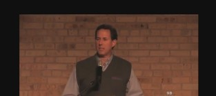 Rick Santorum N-Word Obama Line