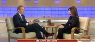 Sarah Palin on Today: Talking Politics, Getting Grilled By Matt Lauer