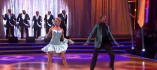 Jaleel white and kym johnson rumba dwts week 6