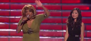 Jessica sanchez and jennifer holliday american idol duet