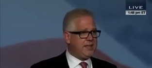 Glenn beck hates on glee