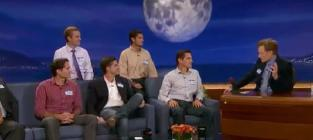 Romney brothers on conan