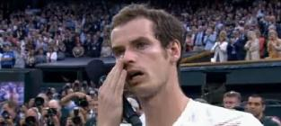 Andy murray runner up speech at wimbledon