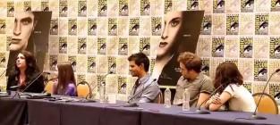 Breaking Dawn Cast at Comic-Con