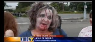 Westboro Baptist Church Protest: Sabotaged By Zombies!