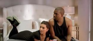 Kim kardashian and kanye west vma commercial