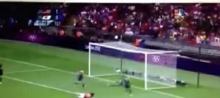 Hope solo save in olympic final