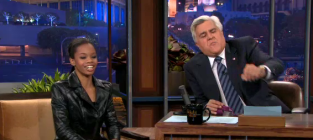 Gabby douglas and michelle obama on the tonight show part 2