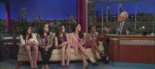 Us womens gymnastics team on letterman