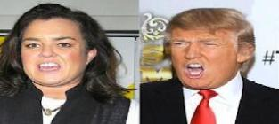 Donald trump slams rosie odonnell
