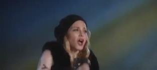 Madonna forgives elton john