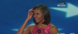 "Michelle Obama DNC Speech: In Praise of ""The Man We Can Trust"""