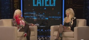 Christina aguilera on chelsea lately