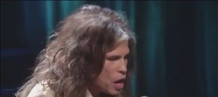 Aerosmith dream on hurricane sandy telethon