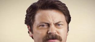 Nick offerman your mo will get fuller