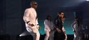 Psy ft mc hammer gangnam style american music awards 2012