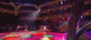 Melissa rycroft dancing with the stars semifinals caveman hustle