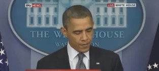 Obama cries during speech on connecticut shooting