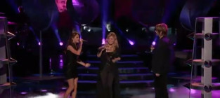 The Voice Performance: Kelly Clarkson, Cassadee Pope and Terry McDermott