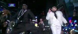 Psy new years eve performance ft hammer gangnam style