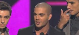 The wanted peoples choice awards acceptance speech