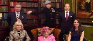 Royal family harlem shake