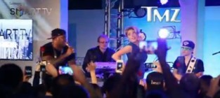 Kate Upton and Flo Rida