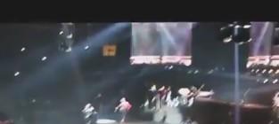 DMX at Alicia Keys Concert