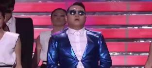 Psy gentleman live on american idol