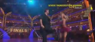 Aly raisman dancing with the stars finals samba