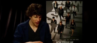 Jesse Eisenberg Does Magic for Interviewer, Is Sort of a Jerk