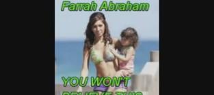 Farrah abraham on trayvon martin