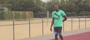 Usain bolt learns russian video