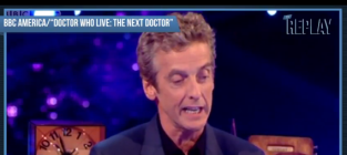 Peter capaldi doctor who announcement